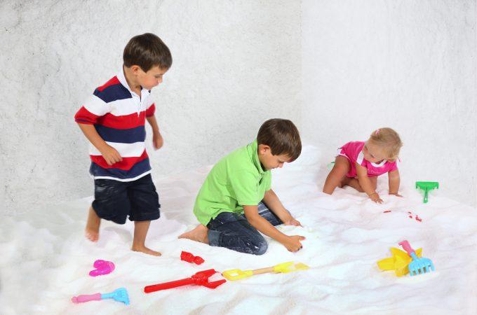 bambini e haloterapia